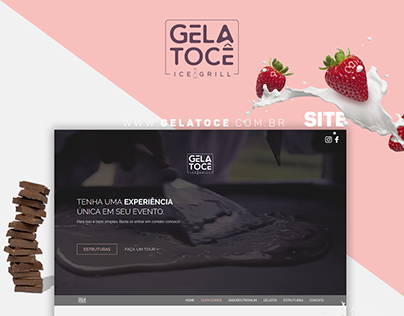 Website | GELATOCÊ ICE GRILL