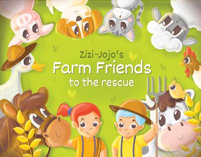 FARM FRIENDS : CHILDREN'S STORYBOOK (Magic Crate )