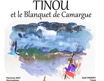Tinou et le Blanquet de Camargue