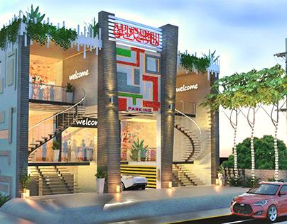 Shopping Mall Plaza