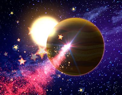Space Nicks Cartoon Animation