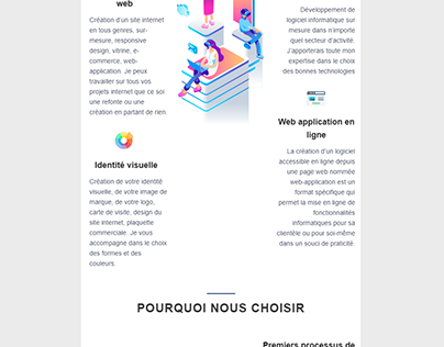 Web developer email templates