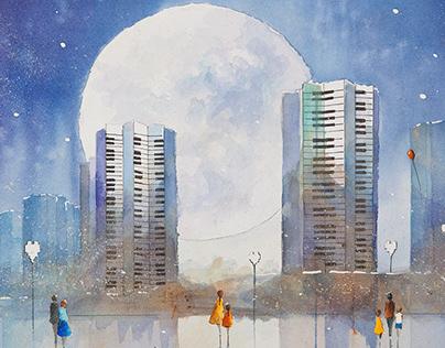 MIASTO W PEŁNI (The City in the Full Moon)