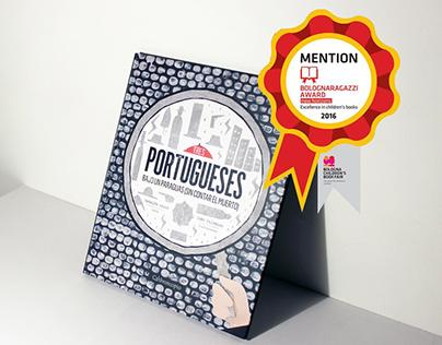 """Libro álbum ilustrado """"Tres Portugueses..."""""""