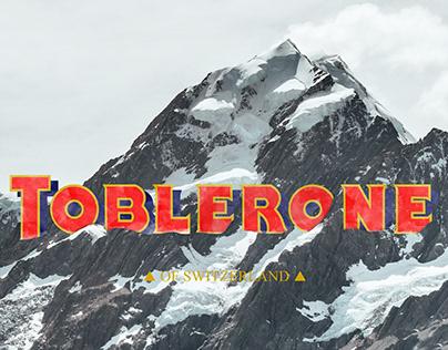 """TOBLERONE """"Rebranding"""""""