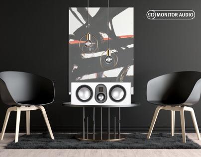 Monitor Audio Advert