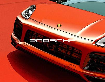 Porsche / Screeching Tires / Interactive