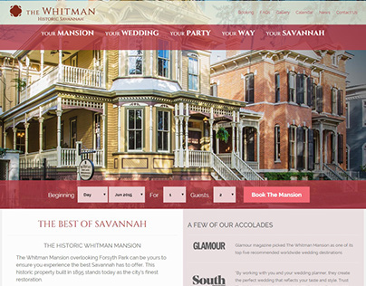 The Whitman Mansion