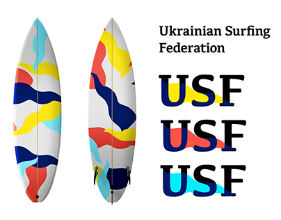 Ukrainian Surfing Federation Brand Identity