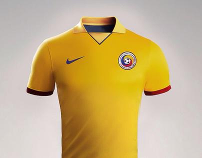 Romanian national team kit reimagined