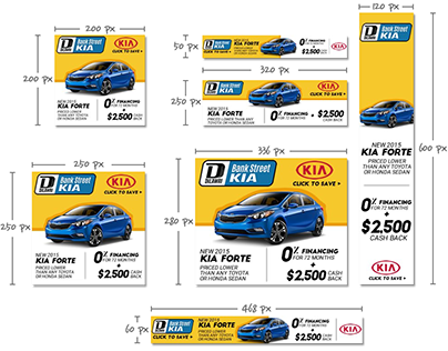 Auto Dealers - Advertising Banners VIII