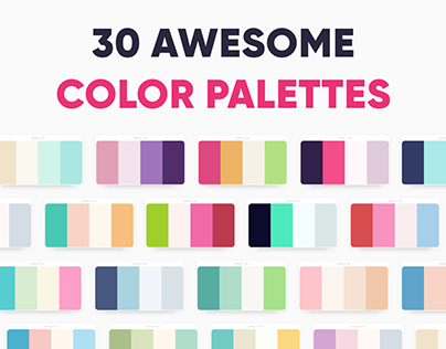 30 Awesome Color Palettes Via Dopely Colors