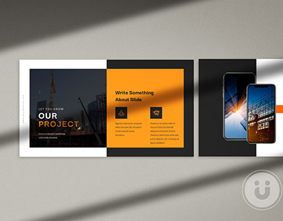 Projecty Construction Presentation Template