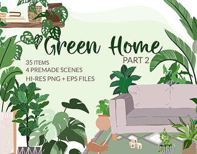 Green Home. Part 2