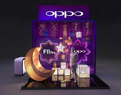 Oppo CFCM Booth 2019