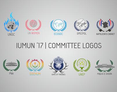 IUMUN '17 | Committee Logos