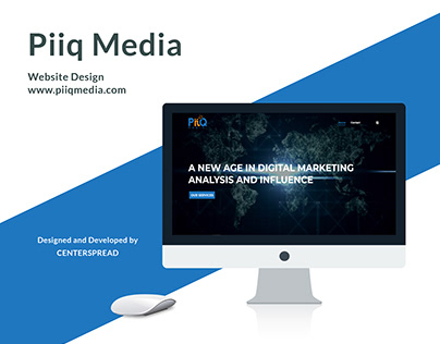 Web Design & Development for PiiQ Media