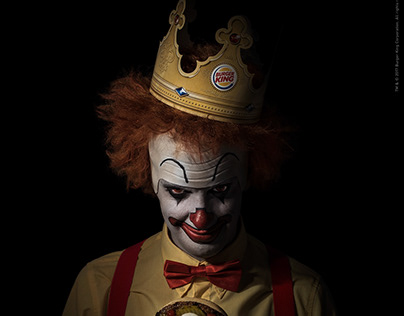 Burger King / Scary Clown Night / Integrated