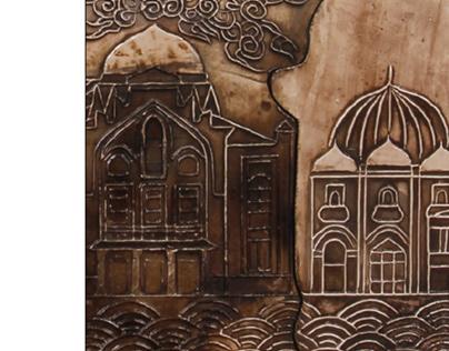 Smyrna Izmir Ceramic Board