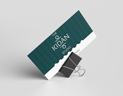 Kidan Studio / Brand design / graphic mockups
