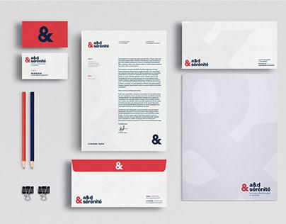 a&d sérénité - branding