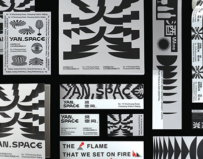 炎空间VI/YAN SPACE VI/graphic /interior design/brand