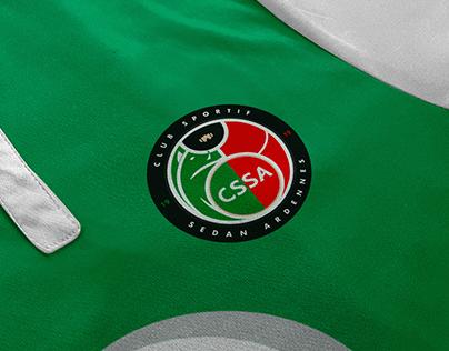 Concept de logo - CSSA - Club Sportif Sedan Ardennes
