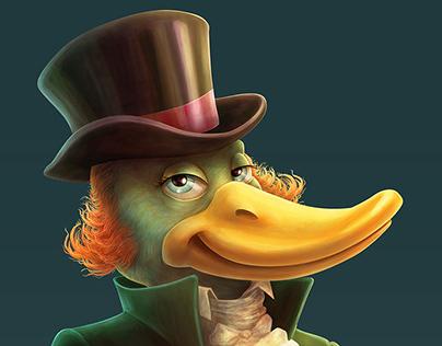 The duck gentleman
