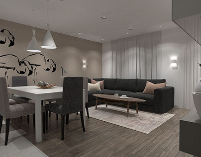 "''DONITA APARTMENT"" - Interior project in Plovdiv"