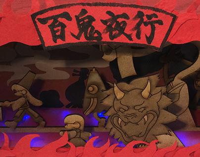 Hyakki Yagyō (Night Parade of One Hundred Demons)