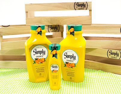 Simply Orange Package Design