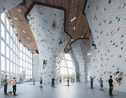 Pictury | Personal Work Climbing wall