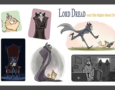 Storyboards - Lord Dread (personal work)