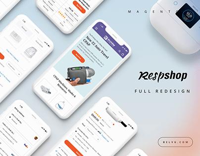 E-commerce - Medical Equipment Online Store