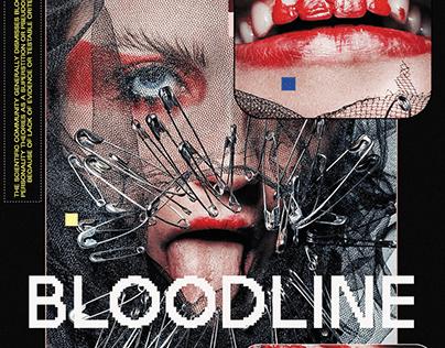 BLOODLINE - (POSTER ARTWORK)