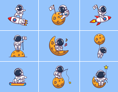 Astronauts!!! 👨🚀🚀🌙