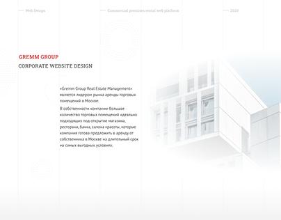 Commercial rental web platform