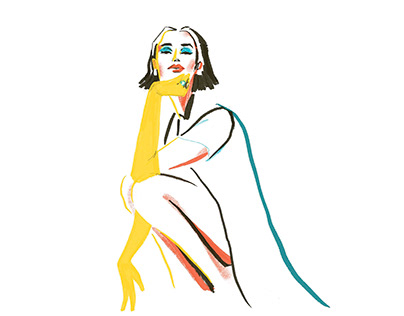 Women in Colour illustrations