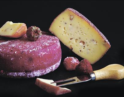 Серія фото і постерів для Майстерні крафтових сирів