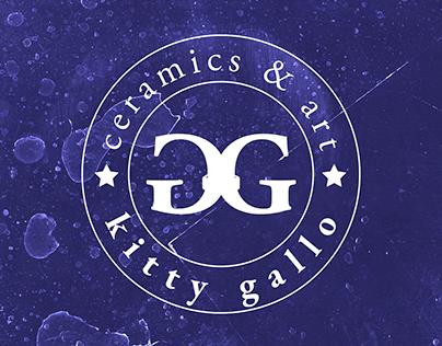 Kitty Gallo ceramics & art branding