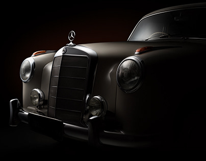 1959 Mercedes-Benz 219 (Private collector)