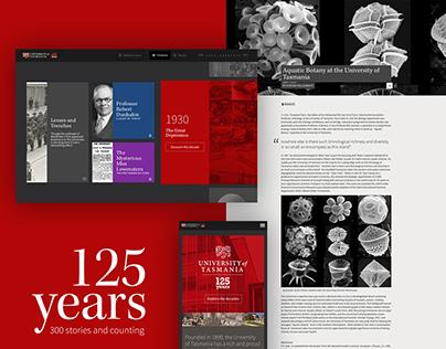 University of Tasmania - 125 Years Timeline