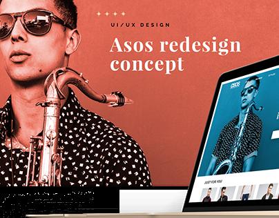 ASOS - Redesign Concept