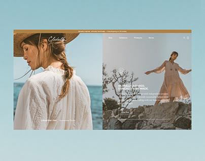Cleobella - Website Design - California