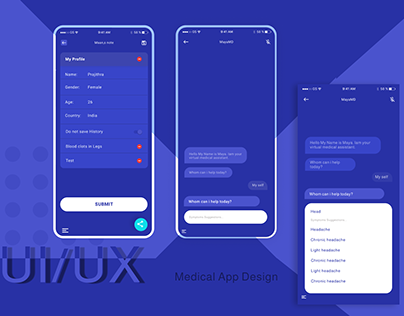 Medical App Chat Boot