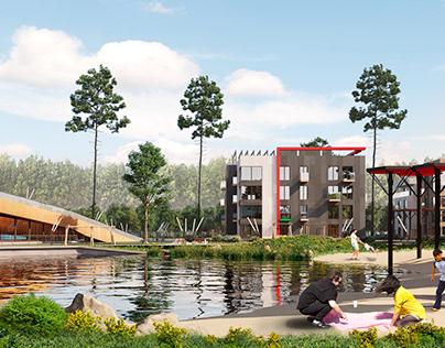 Townhouse village project
