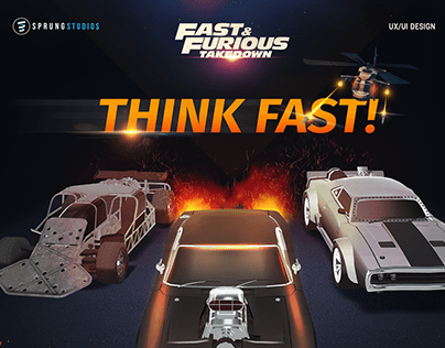 Fast and Furious Takedown | UI/UX Design