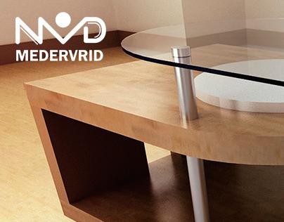 MEDERVRID - Diseño de mobiliario