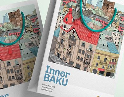 Inner Baku - Illustrated Branding Items for giftshop