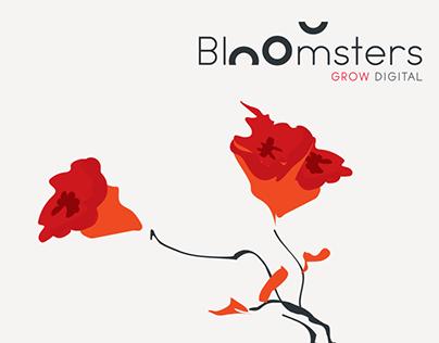Bloomsters - digital agency web site